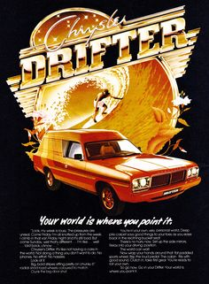 Melts in Your Mind: Photo Aussie Muscle Cars, American Muscle Cars, Chrysler Valiant, Moto Car, Australian Cars, Car Brochure, Pt Cruiser, Retro Images, Sport