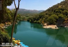 #Bnachii lake, north #Lebanon