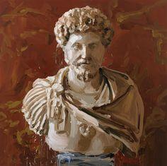 2�0�1�2� �-� �M�a�r�c�u�s� �A�u�r�e�l�i�u�s� � - olie op doek - � �2�0�0�x�2�0�0�c�m