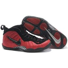 c1f5d435ef3 Nike Air Foamposite Pro Black Red Orange Basketball Shoes