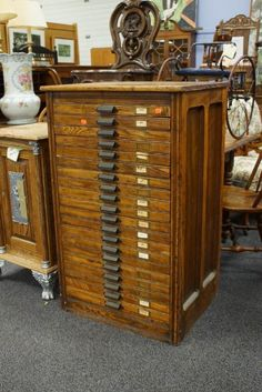 Vintage furniture drawers wood wooden nice beauty – We value vintage objects – Only/Once – www.onlyonceshop.com