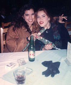 Con Valeria de la Mora