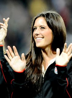 Ali Krieger: Plays for FFC Frankfurt and USA National Women's team... gonna see her tomorrow!