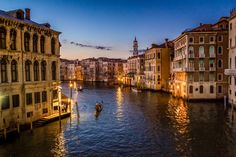 Canal Grande sunset by Tom  Baetsen on 500px