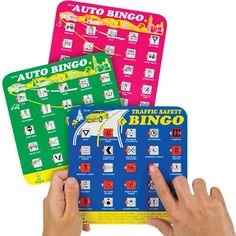 Bring back the glory days of childhood games with a rousing round of new-school bingo-on your next road trip. It keeps kids occupied by interacting with the scenery. Spot various items such as a barn,