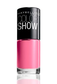 Maybelline - Color Show: this polish is surprisingly long lasting! I've had this color on for a week with no chipping!