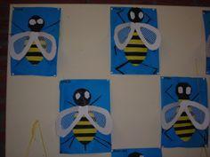 bij knippen en plakken Art For Kids, Crafts For Kids, Arts And Crafts, Kindergarten Portfolio, Summer Art, Science And Nature, Most Beautiful Pictures, More Fun, Presents