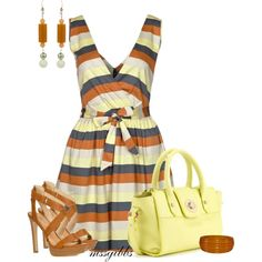 """Summer Dress"" by mssgibbs on Polyvore"