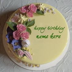 Its the best way to wish birthday to friends and relatives with their name on happy birthday images. Get happy birthday katie cake images and share with your loved one. Sister Birthday Cake, Happy Birthday Mama, Birthday Wishes With Name, Birthday Cake With Photo, Birthday Wishes Cake, Happy Birthday Cake Images, Beautiful Birthday Cakes, Birthday Greetings, Birthday Quotes
