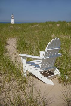 A classic Adirondack chair-- without the maintenance. This outdoor chair is made from recycled plastic and is virtually maintenance free! Customize in a variety of colors. #MadeInUSA