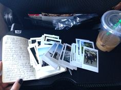keep a journal, take polaroids, look back at them once a year with some good coffee