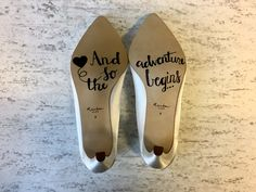 How To Say 'I Do' From The Bottom Of Your Shoe