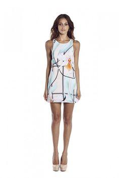 GLASS HOUSE TANK DRESS by Shona Joy at Carousel
