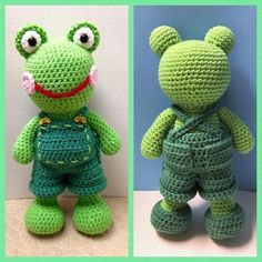 Ribbit Ralph PDF pattern only this is not от Heycanyoucrochetmea