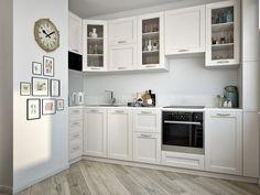 Kitchen Furniture, Kitchen Interior, Kitchen Design, Small Space Kitchen, Small Spaces, Nordic Interior, Interior Design, Flat Ideas, House Rooms