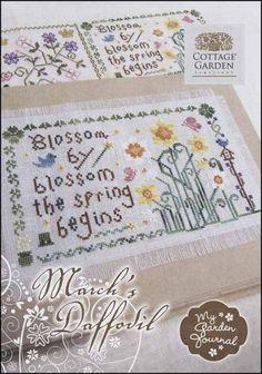 Cottage Garden Samplings - Cross Stitch Patterns & Kits