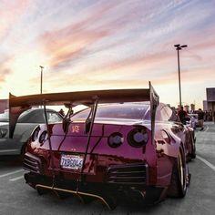 Rocket Bunny Nissan GT-R Z_litwhips R35 Gtr, Nissan Gtr R35, Skyline Gtr, Nissan Skyline, Mustang Tuning, Gtr 35, Liberty Walk, Car Colors, Car Engine