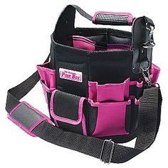 The Original Pink Box Tote Bag With Removable Tool Wall Guns