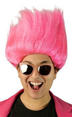 Adults Pink Women's Troll Doll Wig City Costume Wigs https://www.amazon.com/dp/B00NJBPTD0/ref=cm_sw_r_pi_dp_x_RlW7xbSQN2PKX