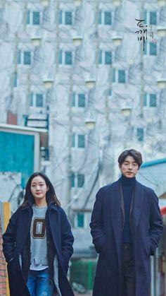 I like that sceen Korean Tv Series, Goblin Kdrama, Goblin Gong Yoo, Lee Dong Wook, Lee Jong Suk, Drama Korea, Shin, Goblin Korean Drama, Goong Yoo