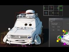 Toon Car rigging on 3dsmax by yassine hamouche ★    CHARACTER DESIGN REFERENCES…