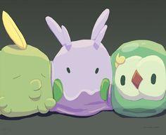 Three Blobs in a Pod