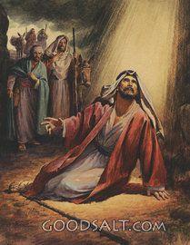 Pablo en el camino a Damasco