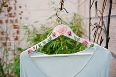 lufcik blog wedding personalized decoupage hanger