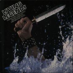 Various-Rock & Metal Living Legends 1980 UK vinyl LP 6498072: VARIOUS ARTISTS Living Legends (1980 UK 10-track vinyl LP featuring a…