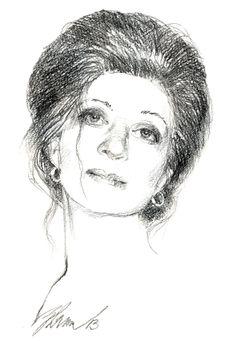 Ночной портрет (бум., кар.)