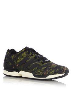 Musthave adidas Sneaker ZX FLUX Forest (Groen|groen) Sneakers van het merk adidas voor Heren . Uitgevoerd in Meerdere kleuren gemaakt van Diverse materialen.