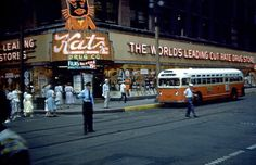 Katz Drug Store - Kansas City, Missouri - I used to love going here with my parents and every summer there was a traveling carnival that would set up behind the store, so fond memories all around.