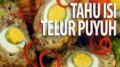 Tahu Isi, Indonesian Language, Indonesian Food, Food And Drink, Beef, Ethnic Recipes, Easy Meals, Meat, Indonesian Cuisine