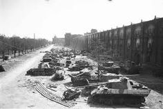 Wrecked German armour concentrated in Berlin after the surrender, May Berlin 1945, Berlin Spree, Berlin Photos, Ww2 Photos, History Photos, Photographs, Tiger Tank, Military Pictures, Ww2 Tanks
