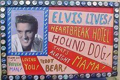 elvis art | Elvis, as reflected in Mexican Folk Art, on velvet.....and beyond