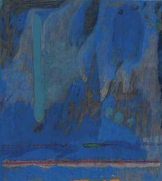 Helen Frankenthaler (American, 1928-2011), Tales of Genji III, from Tales of Genji, 1998. Woodcut