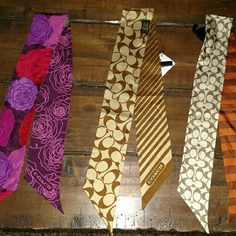 Coach Ponytail Scarves or purse decorations $25 each if sold separately! Coach Accessories Scarves & Wraps