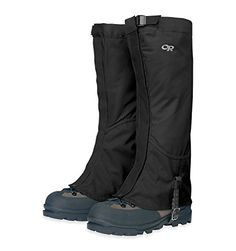 Outdoor Research Men's Verglas Gaiters, Black, Large ** Check out the image by visiting the link.
