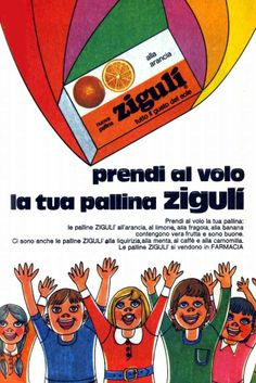 Zigulì Falqui candies passed browsing the , Retro Advertising, Retro Ads, Vintage Advertisements, Vintage Ads, Vintage Italian Posters, Poster Vintage, Saturday Morning Cartoons 90s, Retro Housewife, Old Pub