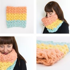 supersize crochet snood pattern by Sarah Shripton Snood Pattern, Crochet Snood, Crochet Books, Trends, Crochet Necklace, Cowls, My Favorite Things, Sewing, How To Make