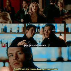 Omg I want a man that thinks of me like klaus thinks of Caroline