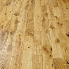 CRAFTED OAK BRUSHED & OILED SOLID WOOD FLOORING
