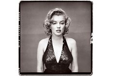 Marilyn as Norma Jean, by the great Richard Avedon.  Likely my single favorite photo of all time. I wrote further thoughts about this image here http://bit.ly/gnBQFF