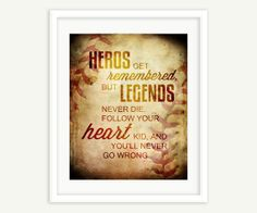The Sandlot Quote - Babe Ruth - Word Art Print on Etsy, $20.00