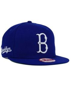 a2f00e31ea5 New Era Brooklyn Dodgers 2 Tone Link Cooperstown 9FIFTY Snapback Cap Men -  Sports Fan Shop By Lids - Macy s