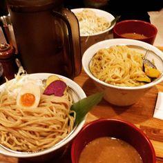 うまい #dinner #dippingnoodles #tsukemen #osaka #delicious #good #instafood #hungry by tiger2to6