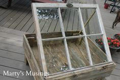DIY Project Using Old Windows