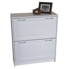 Found It At Wayfair   Storage And Organization Deluxe Double Shoe Cabinet  In White   OK