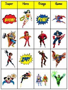 Super_Hero_Bingo