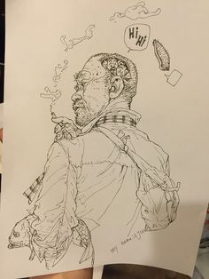 Kim Jung Gi sketch